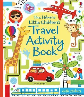 NEW Little Children's Travel Activity Book By James MacLaine Paperback
