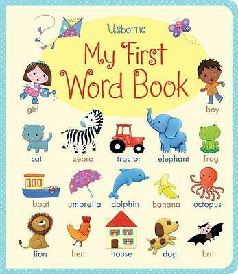 NEW My First Word book By Felicity Brooks Board Book Free Shipping