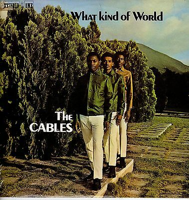 """ WHAT KIND OF WORLD. "" the cables. STUDIO ONE JA orig L.P."