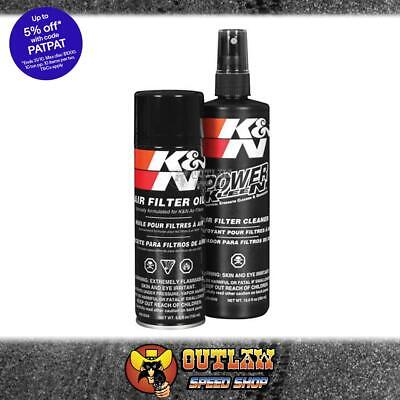K&n Air Filter Recharger Cleaning Kit Service Kit Aerosol Spray Oil - Kn99-5000