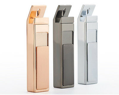 Windproof Lighter Rechargeable USB Electric Flameless Dual Arc Cigarette