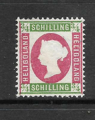 HELIGOLAND  1869-73  3/4sch   QV  MNG  SG 7