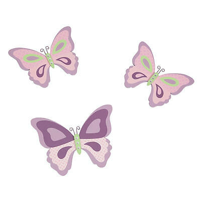 Lambs & Ivy Butterfly Bloom Wall Decor