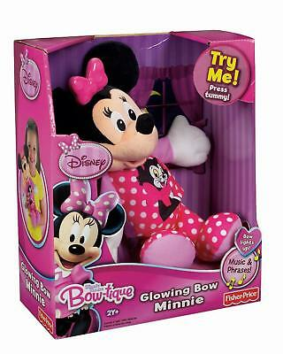 Minnie Mouse Bow-tique Glowing Bow Minnie Fisher Price W5128  - NEW