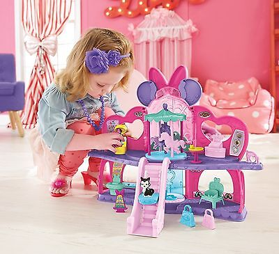 Minnie Mouse Glam Shopping Mall Playset - CJG82 - New