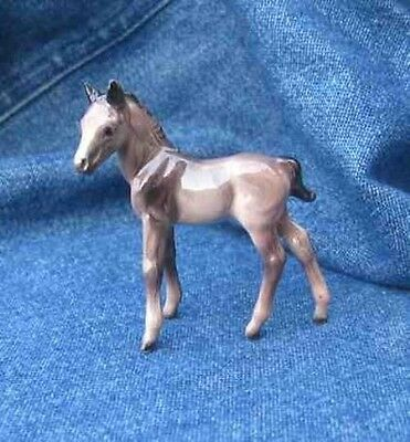 Hagen Renaker 025 THOROUGHBRED COLT Grey Horse no base Miniature Figurine