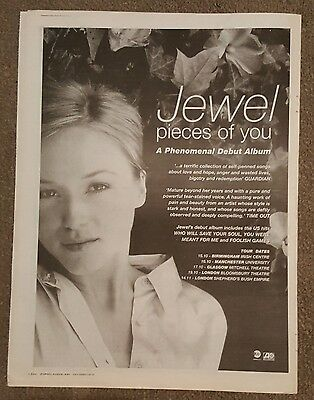 Jewel Pieces of you 1997 press advert Full page 30 x 40cm mini poster