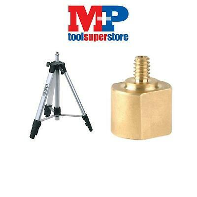 "Draper 65643 Tripod for Camera / Laser Levels 5/8"" + 1/4"" UNC ADAPTOR"