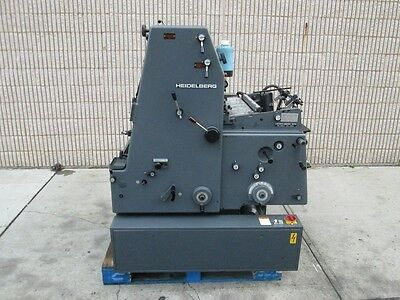 Heidelberg Gto 52, Year: 1988,  Molleton Damp,  Geared For Numbering