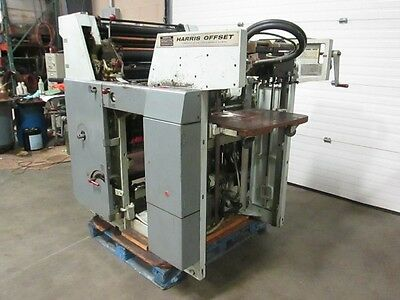 Harris L125B ,  One Color Press, Continuous Dampening