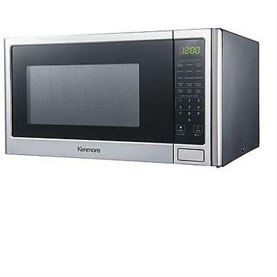 Kenmore 76983 1.6 cu. ft. Microwave Oven - Stainless Steel 1100 Watts Spacious
