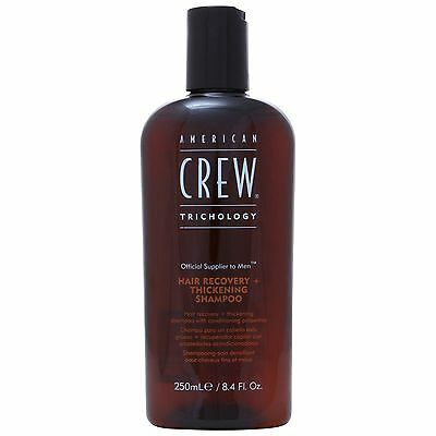 American Crew Haircare Trichology Hair Recovery & Thickening Shampoo 250ml for m