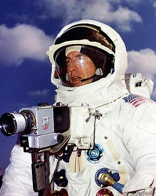 Lovell with Hasselblad Camera Apollo 13 NASA 8x10 Silver Halide Photo Print