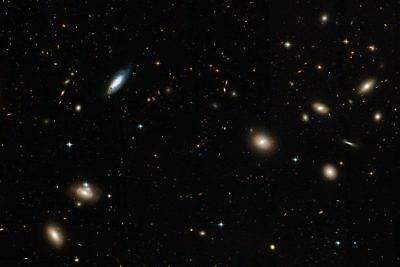 Hubble Telescope Coma Cluster of Galaxies 12x18 Silver Halide Photo Print