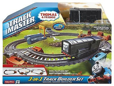 Thomas & Friends Trackmaster Motorized Railway 3-in-1 Track Builder Set - CFF95