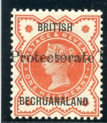 Bechuanaland 1890 QV ½d vermilion (only 840 copies issued) MLH. SG 55. Sc 51.