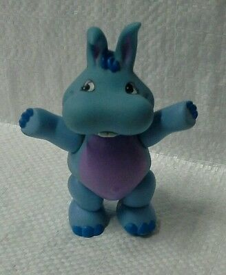 Hoppopotomus Wuzzle poseable toy by Hasbo Disney 1985