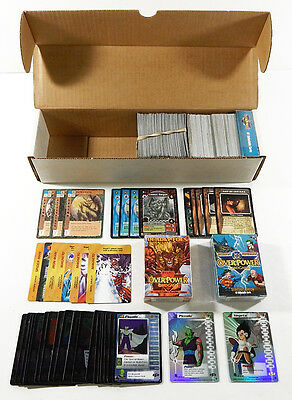 Assorted TCG CCG Lot ^ Dragon Ball Z Tomb Raider Marvel DC Overpower  Blood Wars