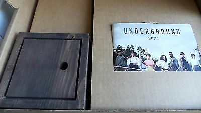 UNDERGROUND TV SHOW DVDs deluxe press kit WGN dvd PHOTO CHRIS MELONI promo lamp