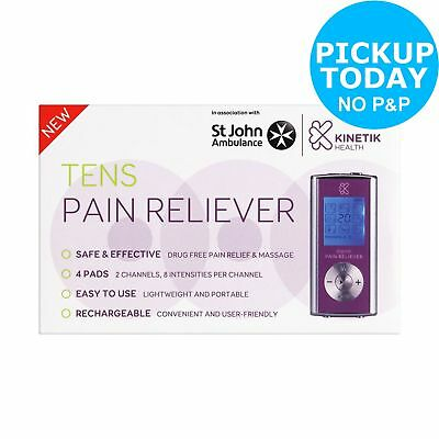 Kinetik Dual Digital Channel TENS Pain Reliever -From the Argos Shop on ebay