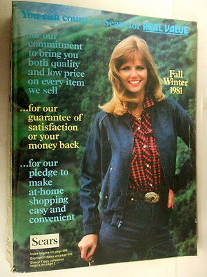 Vintage 1981 Sears Fall/winter Catalog Over 1600 Pgs Huge