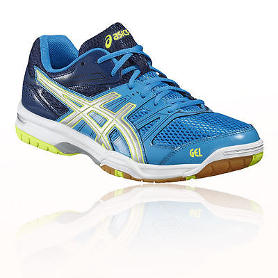 Asics Gel Rocket 7 Mens Indoor Court Shoes Trainers B405N 4396 UK 8.5 EU 43.5