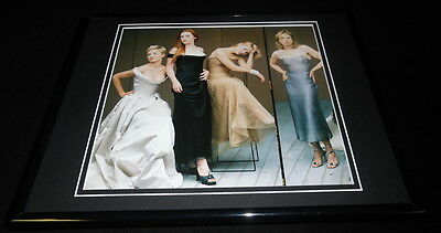 Hollywood Women 1997 Framed 11x14 Photo Display Cameron Diaz Kate Winslet