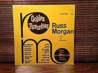 MCA 92.  RUSS MORGAN and His Orchestra.  Golden Favorites  SEALED, MINT