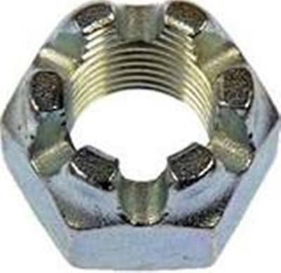 Slotted Hex Castle Nut Zinc Plated 5/8 x 18 SAE Qty-10