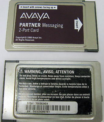 Avaya AT&T Lucent Partner Messaging 2-Port Card 515A1 700262454
