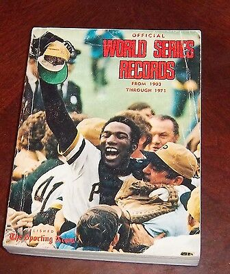 The Sporting News  World Series Records 1971 Manny Sanquilen / Roberto Clemente