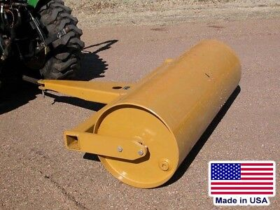 7 ft Drum Roller - Pull Behind - Drawbar / Ball Hitch - 148 Gallons - Commercial