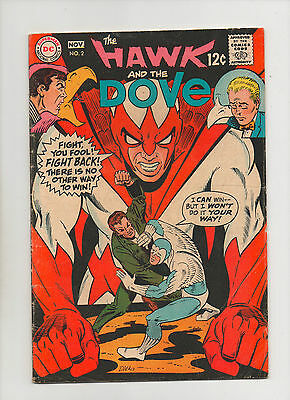 Hawk & Dove #2 - Steve Ditko Cover - (Grade 4.5) 1968