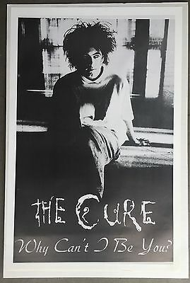 Wall Art Poster The Cure Why Can't I Be You 1993 British Import 23 X 35