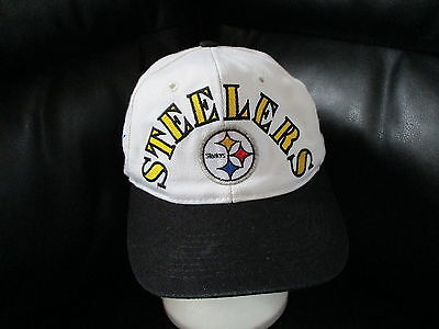 vtg 1990s PITTSBURGH STEELERS 4X SUPER BOWLS HAT Sewn Cap 1975 76 79 80  Snapback bd1dc335a