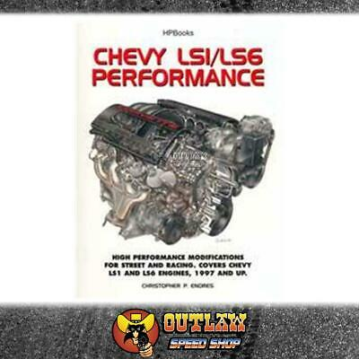 Automotive Book Chevy Ls1 & Ls6 Performance Complete Guide. Hp Books - Hp1407