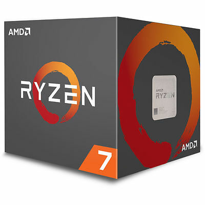AMD Ryzen 7 1700 Processor 16MB Cache 3.0 GHz AM4 8 Core 16 Thread Desktop CPU