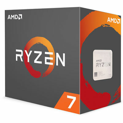 AMD Ryzen 7 2700X CPU 16 MB Cache 3.7 GHz 8 Core 16 Thread AM4 Desktop Processor