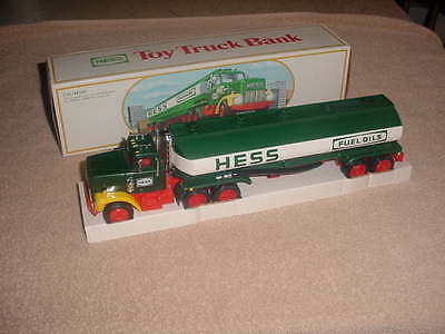 1984 Hess fuel oil gasoline Toy Truck bank   (NIB)