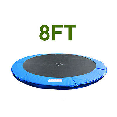 8FT Replacement Trampoline Safety Spring Cover Padding Pad Blue