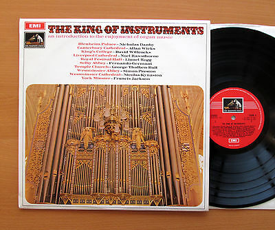 SEOM 4 The King Of Instruments Organ Music Compilation EMI C/stamp NEAR MINT