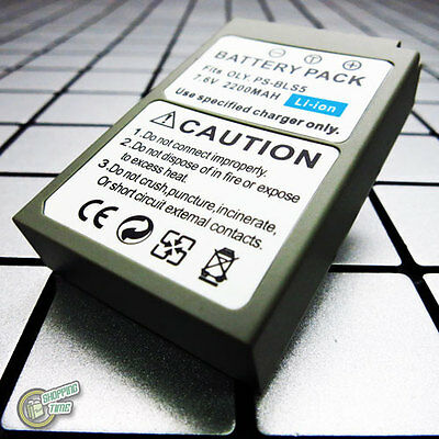 2200mAh BLS-5 50 PS-BLS5 Battery for Olympus OM-D OMD E-M10 II EM10 Mark II 2