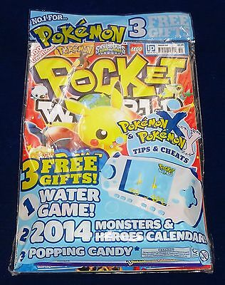 Pocket World Magazine #150;  Pokemon, Yu-Gi-Oh, Moshi Etc New/sealed With Gifts