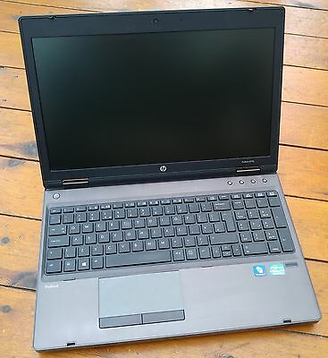 "HP Probook 6570b Core i5 3rd Generation 2.50GHz 500GB 15.6"" Webcam Tungsten"