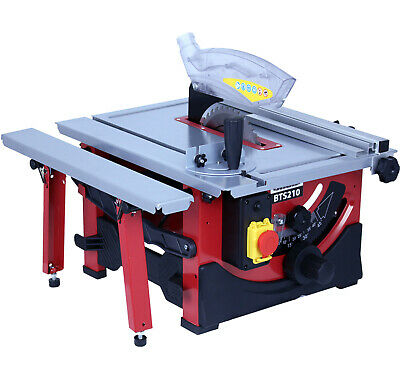Lumberjack BTS210 8 Inch 210mm Bench Top Saw with sliding Extension Blade 240V