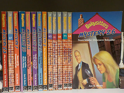 Ann M.Martin - The Babysitter's Club - 14 Books Collection! (ID:44120)