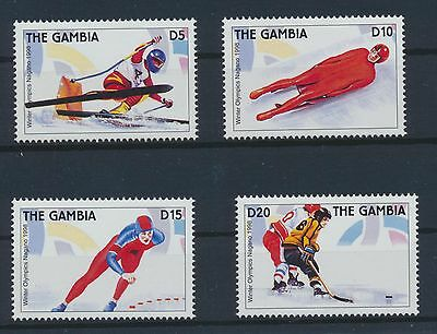 Gambia 2858/61 postfrisch / Olympiade (2204) ...................................