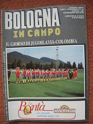 WORLD CUP 1990: Yugoslavia V Columbia in Bologna