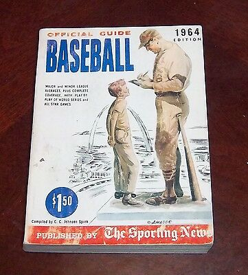 the sporting news  Official Baseball guide and record book 1964 Stan Musial 2