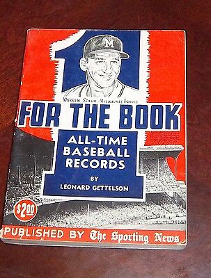 the sporting news One For The Book  1962 Warren Spahn